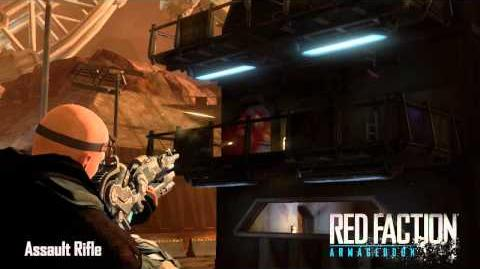 Red Faction Armory Assault Rifle