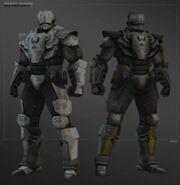 Elite guards concept