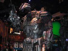 L.E.O Exosuit replica in E3 2010.