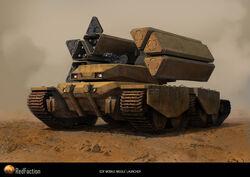 640x453 3122 EDF Mobile Missile Tank 2d sci fi tank picture image digital art.jpg