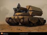 EDF Mobile Rocket Artillery