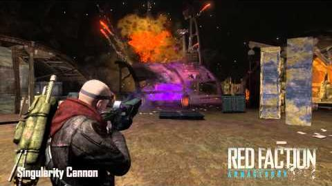 Red Faction Armory Singularity Cannon