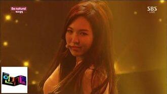 레드벨벳(Red Velvet) Be Natural(비내츄럴) @인기가요 Inkigayo 141019