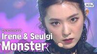 Red Velvet - IRENE & SEULGI(아이린&슬기) - Monster @인기가요 inkigayo 20200712