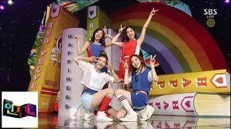 레드벨벳(Red Velvet) 행복(Happiness) @인기가요 Inkigayo 140810