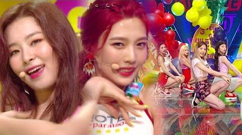 《Comeback Special》 Red Velvet (레드벨벳) - Red Flavor (빨간 맛) @인기가요 Inkigayo 20170709