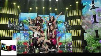 레드벨벳(Red Velvet) 행복 @인기가요 Inkigayo 140817
