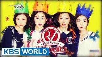 Red Velvet - Happiness 레드 벨벳 - 행복 Music Bank Debut 2014.08