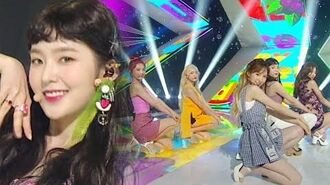 《EXCITING》 Red Velvet (레드벨벳) - Red Flavor (빨간 맛) @인기가요 Inkigayo 20170723
