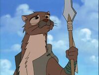Stumptooth from the Redwall TV Series
