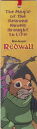 Redwall Bookmark TV