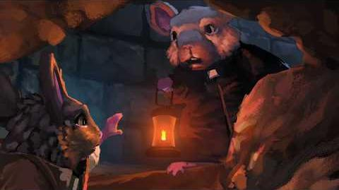 Catacombs Cutscene The Lost Legends of Redwall The Scout