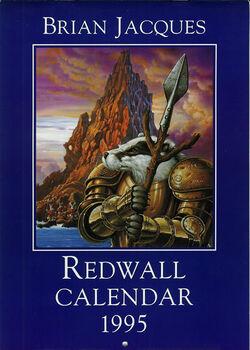 Redwall Calendar 1995