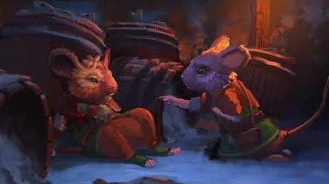 Lilygrove Cutscene The Lost Legends of Redwall The Scout