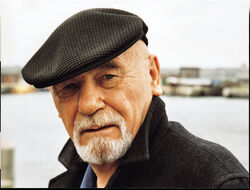 Brian Jacques, photo by David Jacques, MA