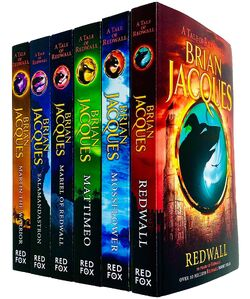 Redwall Series Books 1 - 6 Collection Set