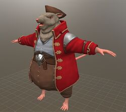 Cheesethief from The Lost Legends of Redwall: The Scout Act II