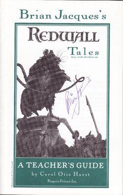 Redwall Tales - A Teacher's Guide