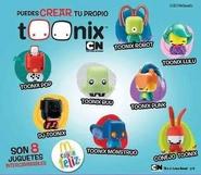 Toonix Happy Meal Toys