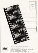 TNT Classic Movies Postcard (Back)