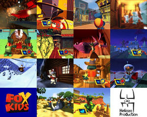 Fox Kids Europe's FoxRiders Presentation Package