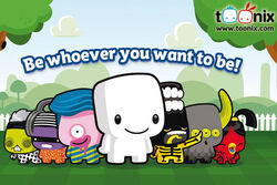 Cartoon Network EMEA's Toonix Virtual World Website