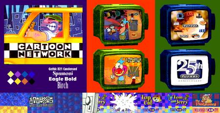 Cartoon Network's First Branding Package - Checkerboard