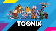 Logo for HBO Nordic's Toonix Streaming Service