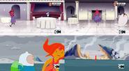Margarita y princesa flama escenas similares
