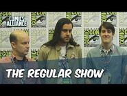 The Cast And Creators Of 'Regular Show' At Comic-Con 2014, Part 2