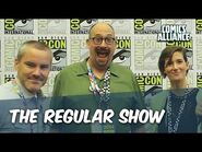 The Cast And Creators Of 'Regular Show' At Comic-Con 2014, Part 1