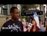 Regular Show Regular Zone - SDCC 2013 - Cartoon Network