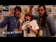 Regular Show Interviews - SDCC 2013 - Cartoon Network