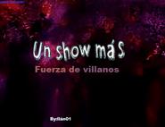 Logo de Un Show más fuerza de villanos