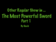 The Most Powerful Sword