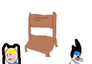 Solo ponen las sillas, nada mas