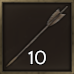 Iron Tipped Arrow