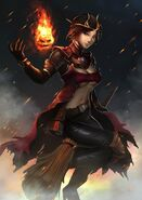 Flame witch by gradni d8ffnor-fullview