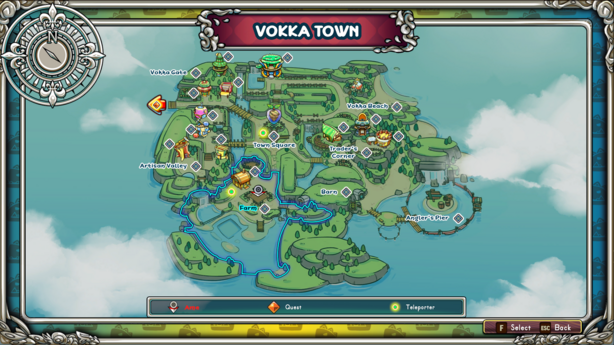 Image for Vokka Town's Map, Version 16.3.9