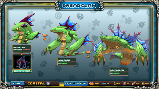 Dreadclaw Evolution Concept.png