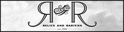 Relics and Rarities Wiki