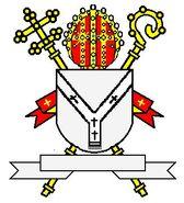 Wapen van een anglicaanse aartsbisschop