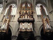 Grenzing Organ in the St. Michael and Gudula Cathedral Brussels