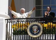 Bush and Benedictus 81th birthday 2008
