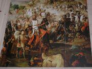 Escenas de la Reconquista por las Ordenes Militares. Spanish Reconquest . Monasterio de Ucles.Cuenca .España..jpg