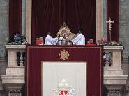 2008 Xmas Urbi Orbi Pope Benedict XVI