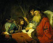Isaac Blessing Jacob - Govert Flinck