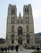 Brussel St. Michael and Gudula Cathedral - Kathedraal van Sint-Michiel en Sint-Goedele