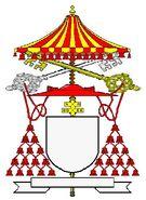 Kardinaal-Camerlingo met ombrellino