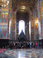 Church on spilled blood from inside